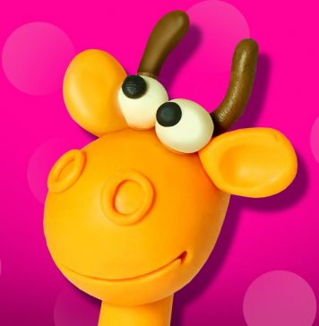 Play Doh Giraffe -KiduKidu.com