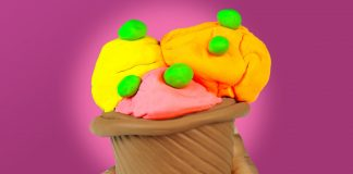 Play doh Ice Cream cone frozen