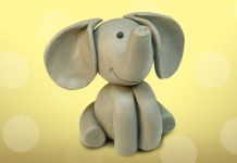 Play Doh Baby Elephant
