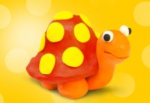 Play Doh Tortoise
